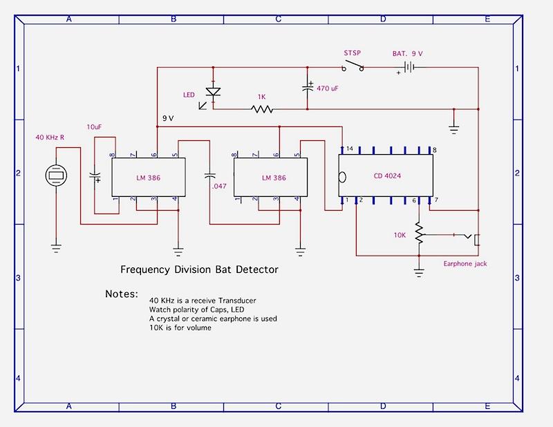 Pleasant Bat Detectors Wiring Digital Resources Antuskbiperorg