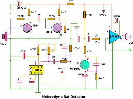 Marvelous Bat Detectors Wiring Digital Resources Antuskbiperorg